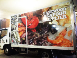 lorry vehicle graphics by isprint Sydney