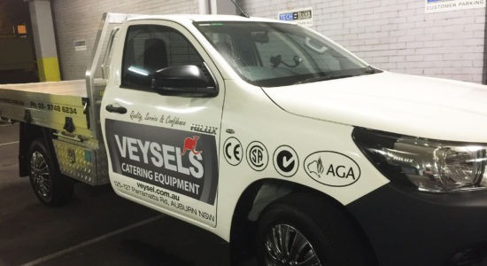 van vehicle graphics by isprint Sydney