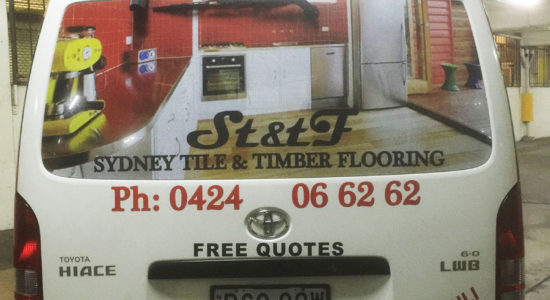 vehicle graphics by isprint Sydney