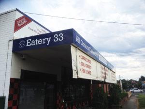 cafe signage restaurant sign by isprint Sydney