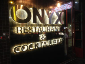 restaurant sign by isprint Sydney